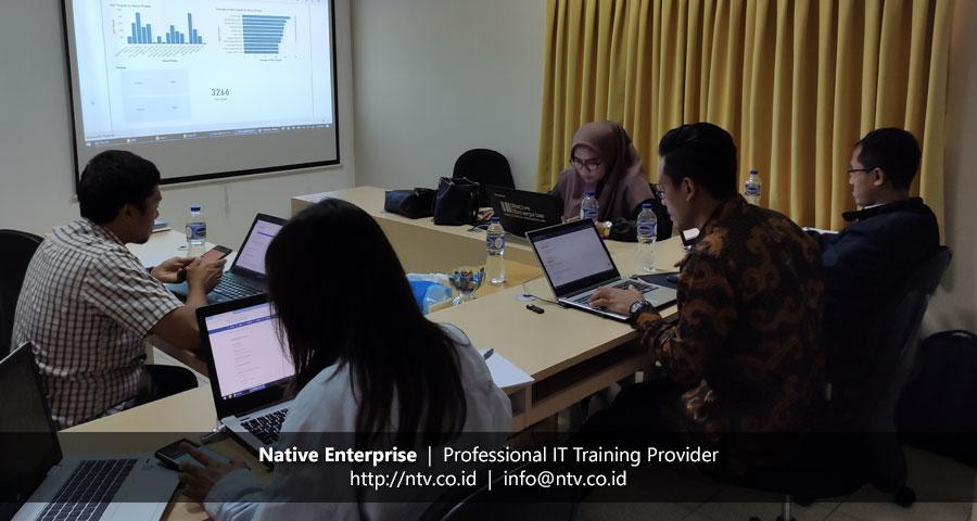 """Training """"Power BI for Business Users"""" bersama PLN Pusertif dan Repsol Indonesia"""