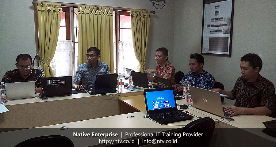 "Training ""Cross Platform Mobile Application Development using React Native"" bersama BKPSDM Kota Tangerang"