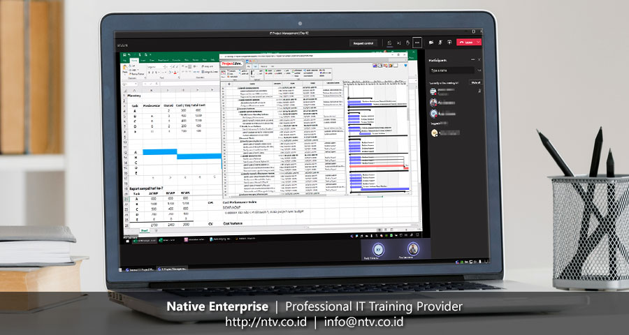 "Online Training ""IT Project Management"" bersama Hansen Technologies"