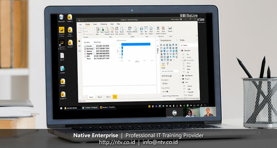 "Online Training ""Power BI for Business Users"" bersama Hansen Technologies"