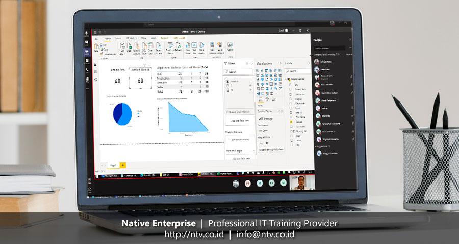 "Online Training ""Power BI for Business Users"" bersama Petrosea (Batch 1)"