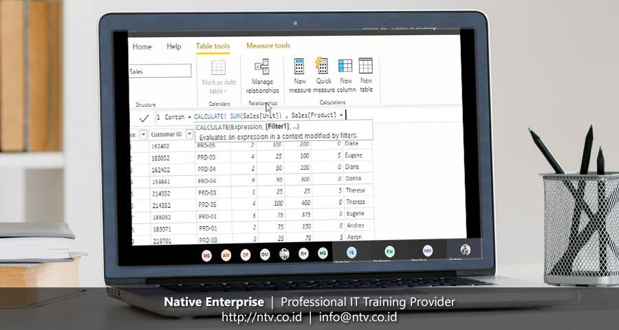 "Online Training ""Power BI for Business Users"" bersama Petrosea (Batch 2)"
