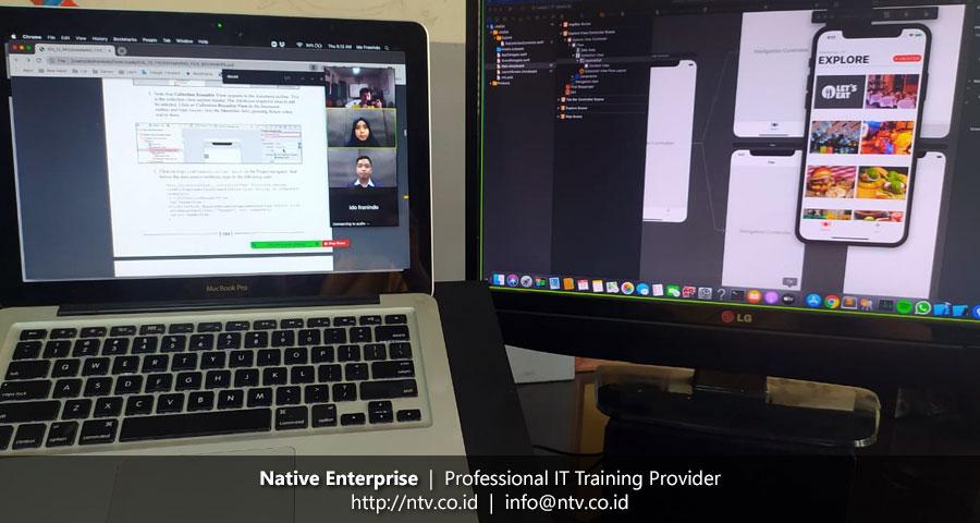 """Online Training """"iOS Application Development using Swift"""" bersama Penerbit Yrama Widya"""