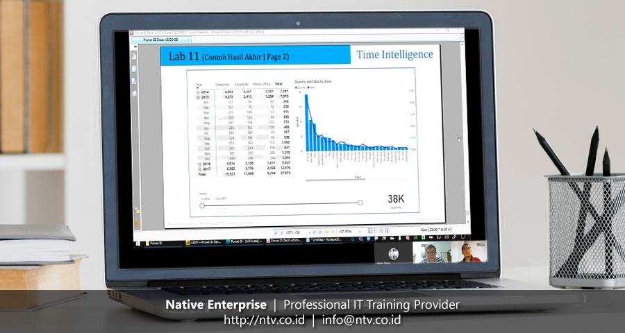 """Online Training """"Power BI for Business Users"""" bersama Lembaga Penjamin Simpanan"""