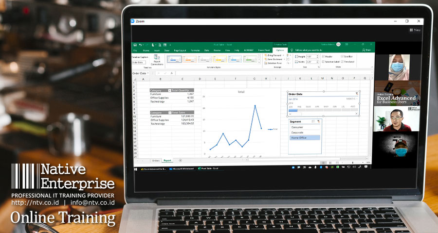 """Online Training """"Excel Advanced for Business Users"""" bersama Petrochina Indonesia"""