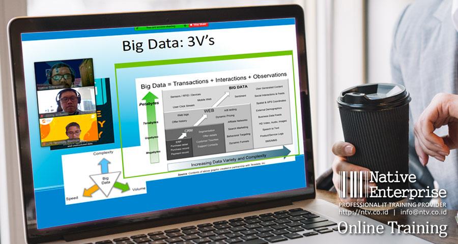 "Online Training ""Introduction to Big Data Concept, Planning, and Managing"" bersama Lembaga Penjamin Simpanan"
