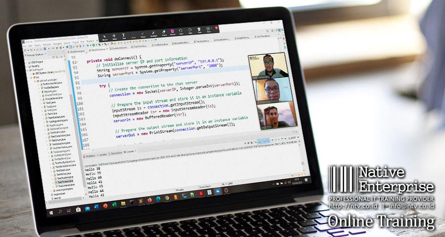 "Online Training ""Java Programming Fundamentals"" bersama PT Jalin Pembayaran Nusantara"