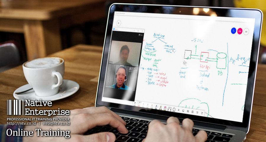 "Online Training ""Full Stack ASP.NET Core 5 Development"" bersama Lion Air Group"