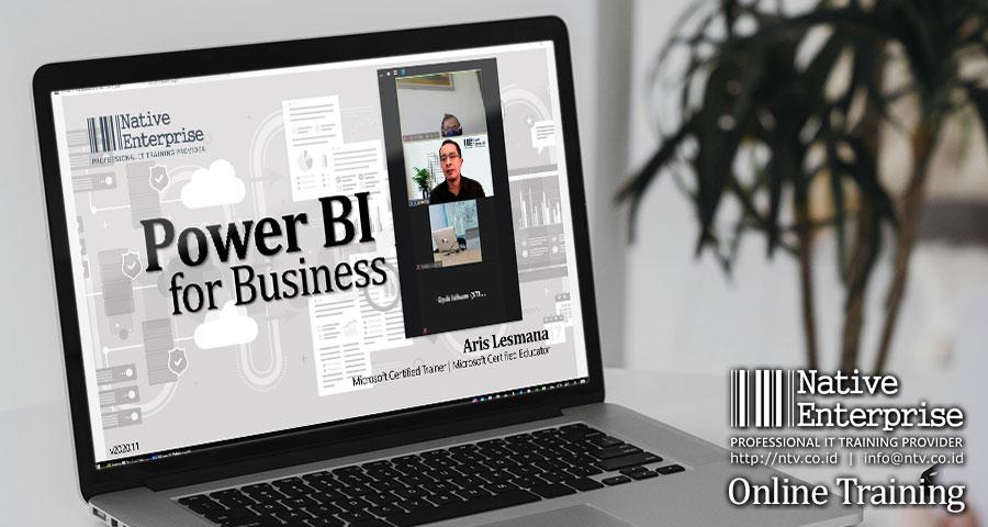 "Online Training ""Power BI for Business Users"" bersama STIA LAN Bandung"