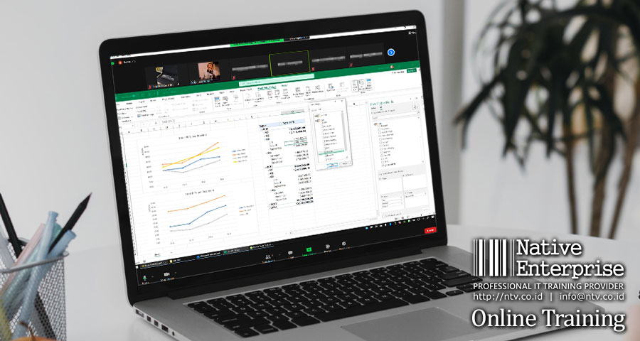 """Online Training """"Excel BI for Business Users"""" bersama Metranet dan Sinar Mas Land"""
